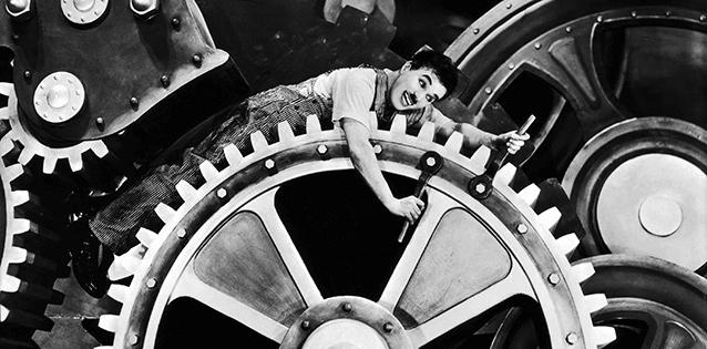 From Chaplin's Modern Times